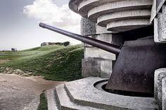 Normandy Big Gun Flickr by Chapman Burnett, via Flickr