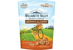 The Packaged Foods Dietitians Pick // Willamette Valley Granola Chips and NuttZo nut butter.