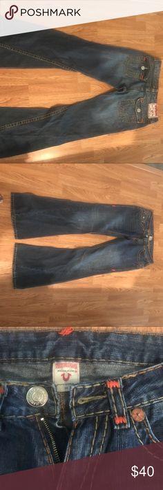 True Religion jeans True religion Joey super T jeans size 31 True Religion Jeans Flare & Wide Leg