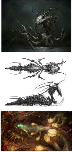 Concept Arts do game de Dead Space 3 | THECAB - The Concept Art Blog