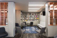 The Interiors Group has recently developed a new office space for WME Entertainment in London. The Interiors Group have delivered and fitted out just over Breakout Area, News Space, Entertaining, London, Interior Design, Table, Offices, Furniture