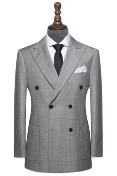 Mens Fashion Blazer, Suit Fashion, Double Breasted Suit Men, Classy Suits, Mode Costume, Suit Shirts, Maxi Coat, Business Casual Men, Formal Suits