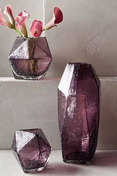 Faceted Gem Vase - anthropologie.com #anthrofave