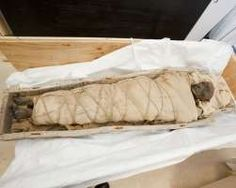 A 1,700-year-old Egyptian mummy found with an intact brain, but no heart has a plaque on her abdomen that may have been intended to ritually heal her, scientists say.