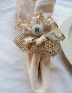 #napkin rings #diy