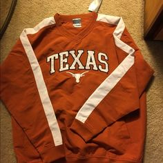 Texas Longhorns Starter Jacket New with Tags Lightweight pullover starter jacket. Never worn. Still has tags. Nice jacket with front pockets. Knights Apparel Jackets & Coats