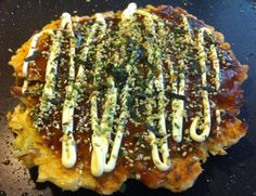 Okonomiyaki (Vegetable Japanese Griddle Cake)