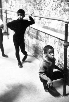 N.Y.C., Harlem, neighborhood boys ballet by bizz