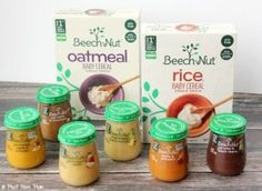 Rice Cereal Pancakes with baby food and baby cereal as an ingredient. Use baby…