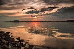 Lake Balaton by andris nagy on Hungary Travel, Homeland, Wonderful Places, Beautiful Landscapes, Budapest, Tao, Sunset, Shutter, Country