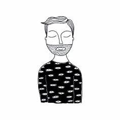 awareness   #ordinaryyoungman   Illustrazione di #FernandoCobelo