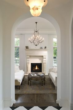 White Window Frames Design Ideas, Pictures, Remodel, and Decor - page 10