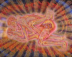 La inspiración de Alex Grey y sus pinturas más emblemáticas | Cultura Colectiva - Cultura Colectiva