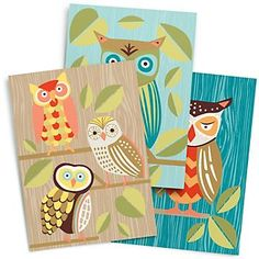 Owl Mini Journals