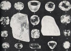 vintage gem illustration