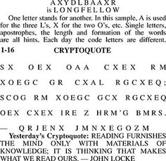 photo about Printable Cryptograms identify Every day movie star cipher puzzles on the internet
