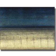 Randy Hibberd 'Blue Dream' Canvas Art (overstock)