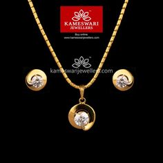 Find the perfect gold pendant that matches your style. Gold Bangles Design, Gold Earrings Designs, Necklace Designs, Jewelry Design, Pendant Design, Pendant Set, Diamond Pendant, Gold Jewelry Simple, Gold Jewellery