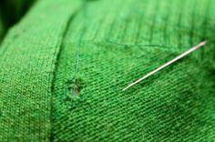 Mending Woolen Holes