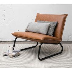 shop bij vtwonen by fonQ! Lounge, Barcelona Chair, Outdoor Furniture, Outdoor Decor, Bench, Vintage, Home Decor, Interiors, Frame