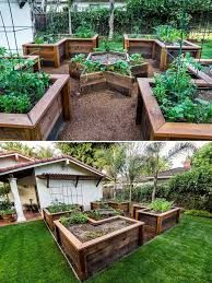Image result for cool raised garden beds