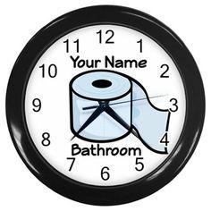 Wall Clock Waterproof Silent Multifunction Creative Shower