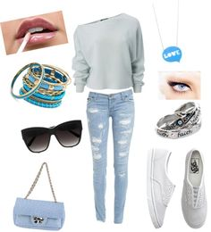 """"""";D"""" by clau-dhiakiss ❤ liked on Polyvore"""