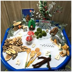 The Gruffalos Child Winter Tuff Tray Gruffalo Eyfs, Gruffalo Activities, Nursery Activities, Rhyming Activities, The Gruffalo, Activities For Kids, Christmas Books, A Christmas Story, Christmas Ideas