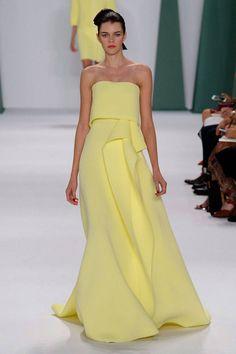 Carolina Herrera Spring 2015 Ready-to-Wear Collection