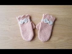 Crochet Gloves, Crochet Baby Booties, Knitting Patterns Boys, Crochet Patterns, Crochet For Kids, Free Crochet, Baby Shoes, Embroidery, Crafts