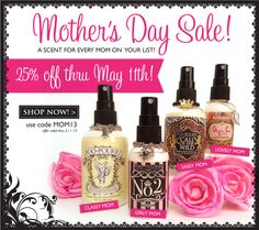 Poo~Pourri 25% off Mother's Day Sale! Use Code: MOM13  www.poopourri.com
