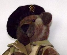 Soldier Bear by Beezlee's Bears