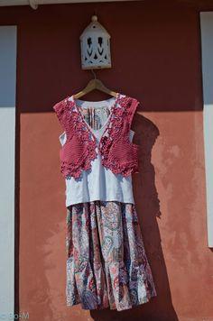 Modelo original de Bo-M!  Feito à mão em crochet