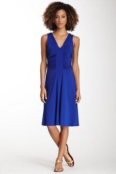 Laguna Shirred Dress