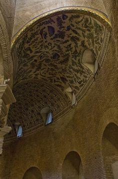 Arquitectura paleocristiana. Mausoleo de Santa Constanza: deambulatorio.