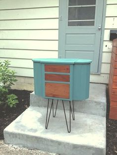 Our New Vintage Chairs, Quirkified Sewing Cabinet and Project Update
