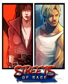 Streets of Rage concept art