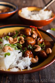 Cola chili kip met cashewnoten- Chili Coca Cola Chicken with Cashews - simoneskitchen.nl/ recipe is from Billy Law (recipe is in Dutch)