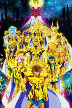 Saint Seiya Gold's