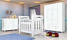 Berço Mini cama 3 em 1: versatilidade e estilo no quarto de bebê