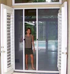 Retractable French Door Screens. I Like The Idea Of French Doors And Screen  Door Too