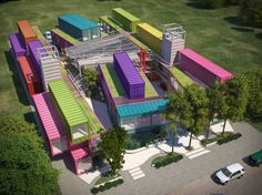 57 contenedores son igual a un proyecto - Noticias de Arquitectura - Buscador de Arquitectura