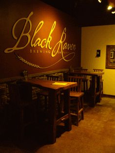 Welcome to Black Raven Brewing Company. Winners of several brewing awards. Great place to gather and gab. Bring your own food or order there.