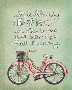 How cute - might frame this and hang at the beach....nothing like riding a bike at the beach - it's heavenly!