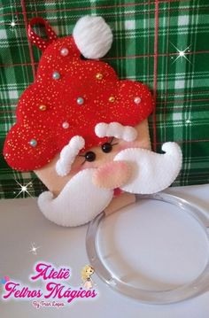 VK is the largest European social network with more than 100 million active users. Easy Christmas Ornaments, Homemade Christmas Decorations, Felt Decorations, 1st Christmas, Felt Ornaments, Christmas Projects, Holiday Crafts, Holiday Decor, Foam Crafts