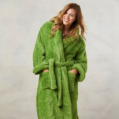 8297968dda8 Shop for Berkshire Blanket and Home Extra-Fluffy Plush Robe. Get free  delivery at Overstock - Your Online Bath   Towels Shop!