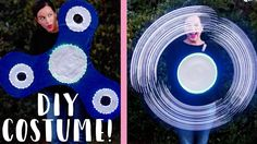 DIY LED FIDGET SPINNER COSTUME!!! #halloweencostumes #costume #diy #HALLOWEEN Halloween Gif, Holidays Halloween, Happy Halloween, Halloween Decorations, Halloween Costumes, Halloween Ideas, Fidget Spinner Costume, Cosmo And Wanda Costume, Deco Led