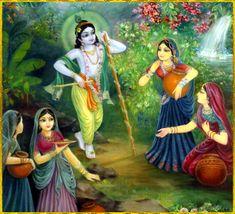 •~RADHA KRISHNA~• Artist: Vasudeva Krishna das