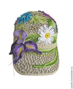 """Кепка """"Июльское утро"""" #cap #crochet #handmade"""