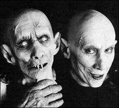 Reggie Nalder 'Kurt Barlow' in Salem's Lot 1979. Appeared in 70's Horror Movies 'Mark of the Devil' 1970 & 'Mark of the Devil ll' 1972, a made for tv movie 'The Dead Don't Die' 1975, 'Dracula Sucks' 1978 and 'Zoltan, Hound of Dracula 1978'